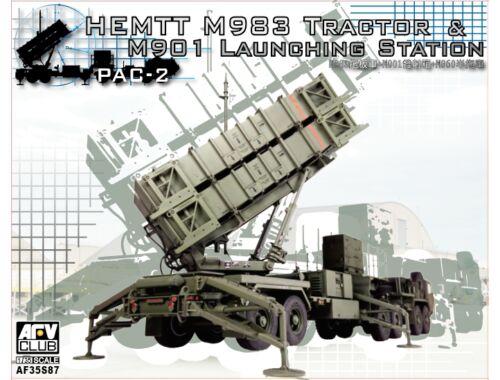 AFV Club HEMIT M983 Tractor w/Patriot PAC-2 1:35 (AF35S87)
