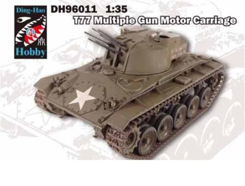 AFV Club T77 Multiple Gun Motor Carriage 1:35 (DH96011)