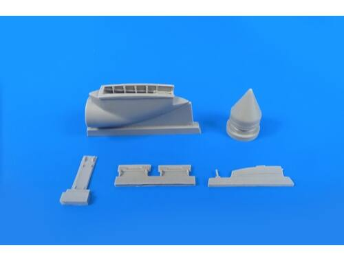 CMK BAC Lightning (for any version) – 1/48 Front Undercarriage Bay Set for Airfix/Eduard kit 1:48 (4