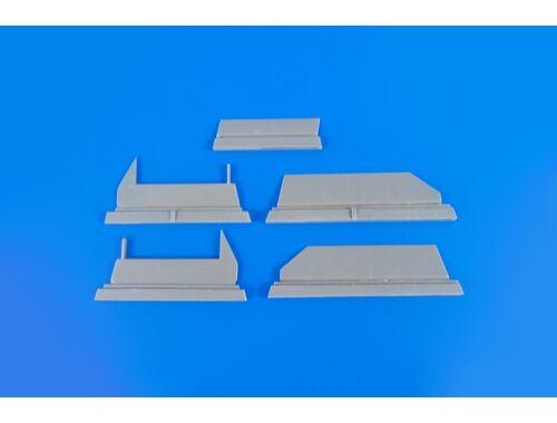 CMK BAC Lightning F1/F1A/F2/F3 – Control Surfaces Set 1/48 for Eduard/Airfix kit 1:48 (4346)