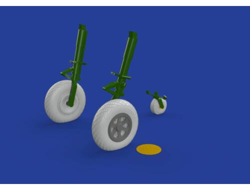 Eduard P-47D wheels for HASEGAWA 1:32 (632088)
