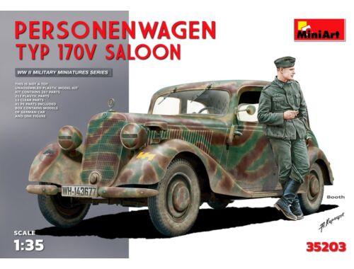 Miniart Personenwagen Typ 170V Saloon. Special Edition 1:35 (35203)