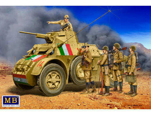 Master Box Italian military men,WWII era 1:35 (35144)