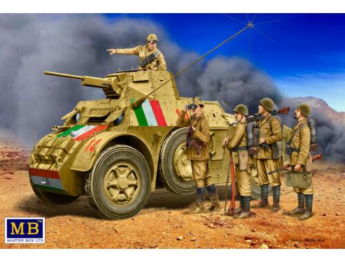 Master Box Italian military men,WWII era 1:35 (35144)