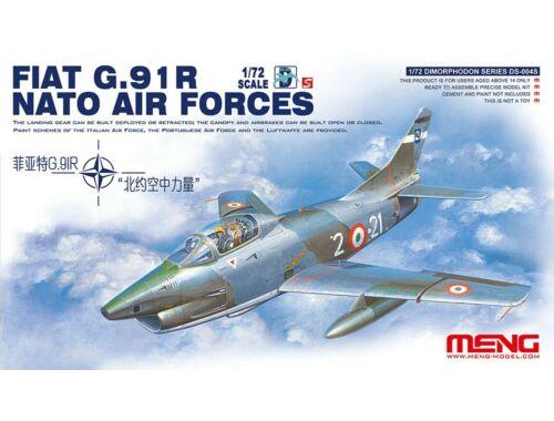 Meng Fiat G.91R NATO Air Forces 1:72 (DS-004s)