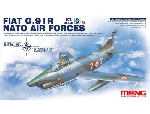 Meng Fiat G.91R NATO Air Forces 1:72 (DS-004s)