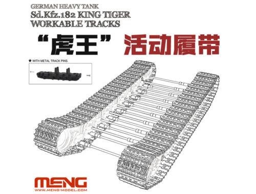 Meng Sd.Kfz.182 King Tiger Workable Tracks 1:35 (SPS-038)