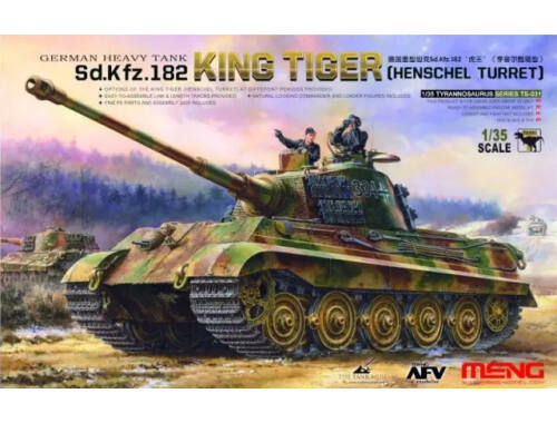 Meng Sd.Kfz.182 King Tiger (Henschel Turret) 1:35 (TS-031)