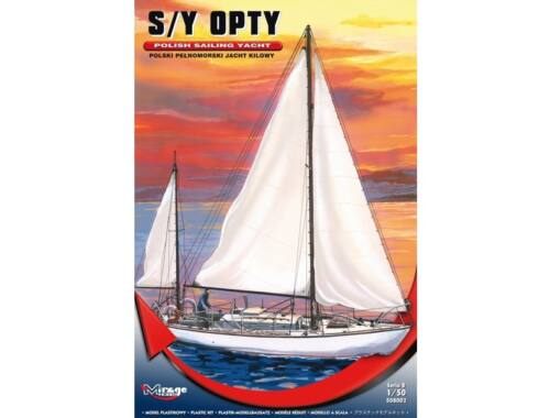 Mirage Hobby S/Y OPTY Polish Sailing Yacht 1:50 (508002)