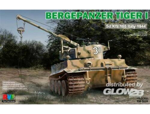 Rye Field Model Bergepanzer Tiger I Sd.Kfz.185 Italy 1944 1:35 (5008)