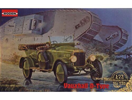Roden Vauxhall D-type 1:72 (735)