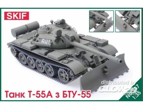 Skif T-55 Tank with BTU-55 1:35 (237)