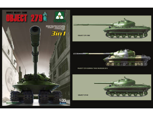 Takom Soviet Heavy Tank Object 279 3in1 1:35 (2001)