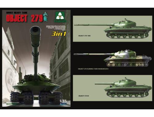 Takom Soviet Heavy Tank Object 279 3in1 1:35 (2001)