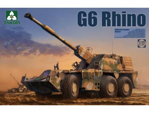 Takom G6 Rhino SANDF Self-Propelled Howitzer 1:35 (2052)