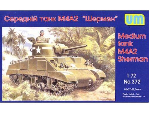 Unimodel M4A2 Sherman medium tank 1:72 (372)