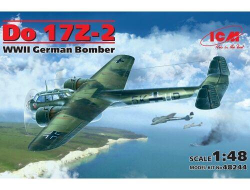 ICM Do 17Z-2, WWII German bomber 1:48 (48244)