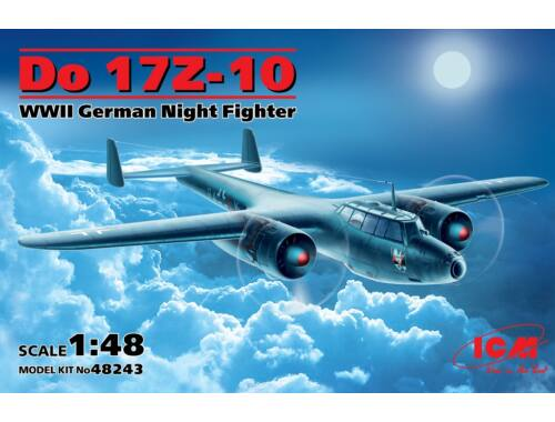 ICM Do 17Z-10 WWII German Night Figher 1:48 (48243)