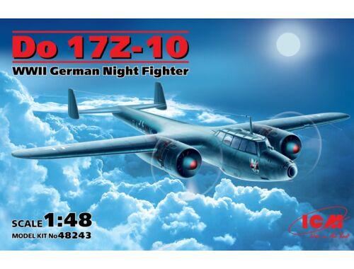 ICM Do 17Z-10 WWII German Night Figher 1:48 (48243)