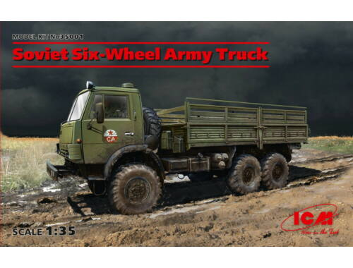 ICM Soviet Six-Wheel Army Truck 1:35 (35001)