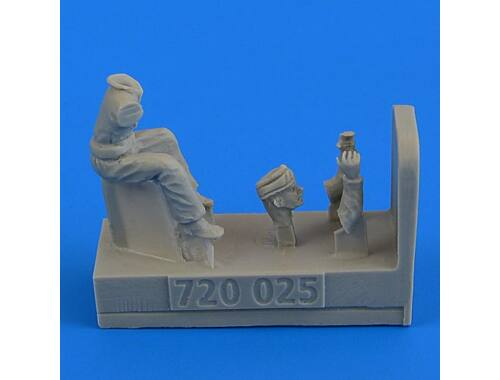 Aerobonus WWII RAF Motocycle Driver- part 2 1:72 (720025)