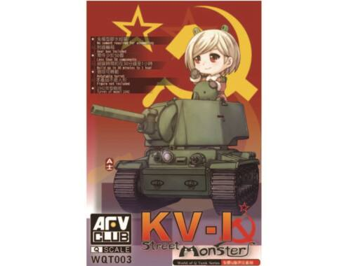 AFV Club KV-I Street Monster (Q series kit) (WQT003)