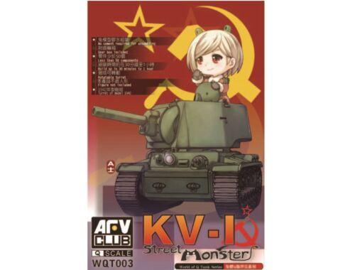 AFV Club KV-I Street Monster (Q series kit) (WQT003)