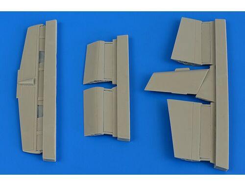 Aires L-29 Delfin control sufaces for AMK 1:48 (4695)