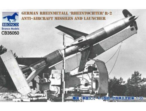 Bronco German Rheinmetall'Rheintochter R-2 anti-aircraft missiles a.launcher 1:35 (CB35050)