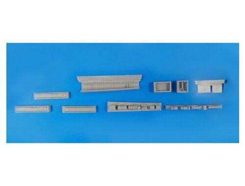 CMK BAC Lightning F2A/F6 - electronics set for Airfix/Eduard reboxing kit 1:48 (4351)
