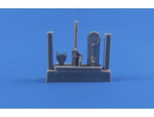 CMK Tempest Mk.II/V/VI - Control column for Special Hobby/Pacific Coast kits 1:32 (Q32240)