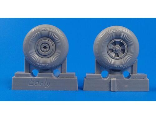 CMK Tempest Mk.V/Typhoon Mk.I - Main wheels early type for Special Hobby/Pacific Coast kits 1:32 (Q3