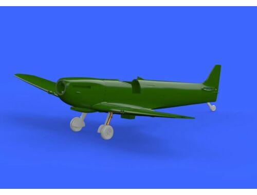 Eduard Spitfire Mk.IX legs BRONZE w/ 5 spoke wheels, smooth tire for EDUARD 1:72 (672135)