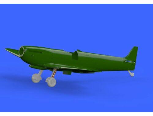 Eduard Spitfire Mk.IX legs BRONZE w/ 5 spoke wheels, pattern for EDUARD 1:72 (672136)