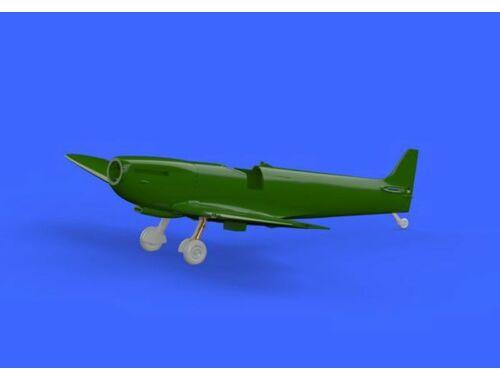 Eduard Spitfire Mk.IX legs BRONZE w/ 4 spoke wheels, pattern for EDUARD 1:72 (672138)