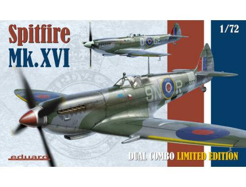 Eduard Spitfire Mk.XVI DUAL COMBO LIMITED EDITION 1:72 (2117)