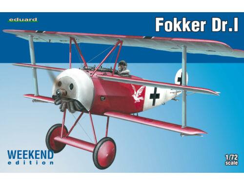 Eduard Fokker Dr.I WEEKEND edition 1:72 (7438)
