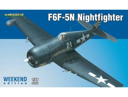 Eduard F6F-5N Nightfighter WEEKEND edition 1:48 (84133)