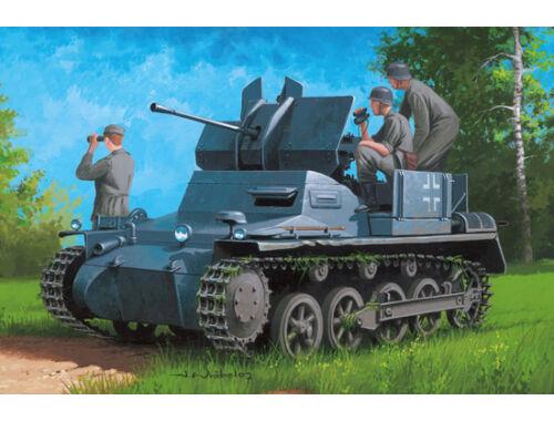 Hobby Boss German Flakpanzer IA w/Ammo.Trailer 1:35 (80147)