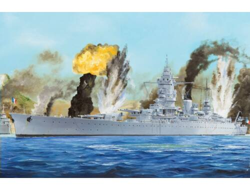 Hobby Boss French Navy Dunkerque Battleship 1:350 (86506)