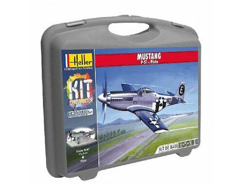 Heller Model Kit P-51D Mustang 1:72 (60268)