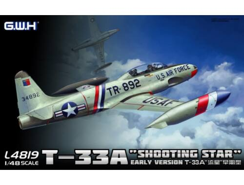 "Lion Roar RoCAF T-33A ""Shooting Star"" 1:48 (S4805)"
