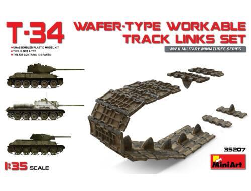 Miniart T-34 Wafer-Type Workable Track Links Set 1:35 (35207)