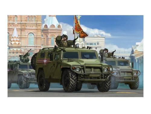 "Meng Russian GAZ 233115""Tiger-M"" SPN SPV 1:35 (VS-008)"