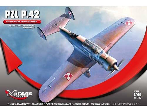 Mirage Hobby PZL P.42 (Polish Light Diving Bomber) 1:48 (481320)