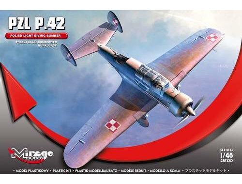 Mirage Hobby PZL P.42 (Polish Light Diving Bomber) 1:48 (481320)