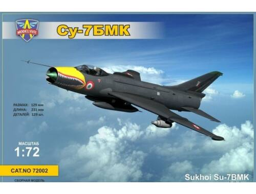 Modelsvit Sukhoi SU-7BMK (Export version) 1:72 (72002)