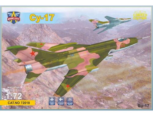 Modelsvit Sukhoi Su-17 Serial 1:72 (72018)