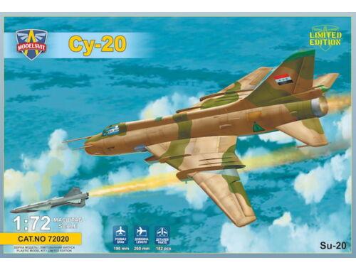 Modelsvit Sukhoi Su-20 (with Kh-28 missile) 1:72 (72020)