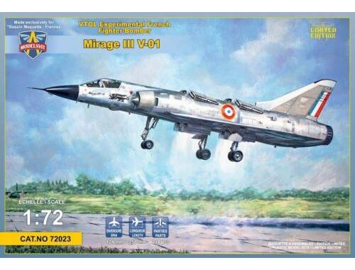 Modelsvit Mirage III-V-01 French VTOL 1:72 (72023)